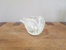 Seguso Vetri d'Arte Murano Glass Bird Vase