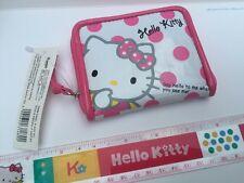 Sanrio Original Classic Hello Kitty Wallet Coin Purse Japan Exclusive Cute Dots