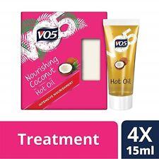 VO5 Nourishing Coconut Hot Oil, 4 X15 ml