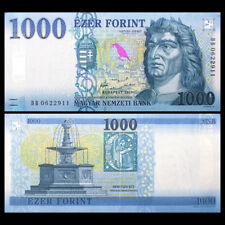 Hungria Hungary 1000 1,000 Forint, 2017(2018), P-New, UNC
