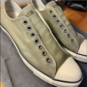 NEW Converse x John Varvatos Olive Green Rare All Star Sneakers Size 9.5 Men