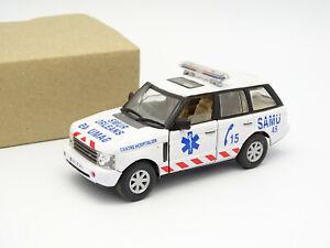 Cararama Oliex SB 1/43 - Range Rover 2003 Ambulance Samu 45