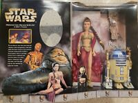 NEW Hasbro STAR WARS Princess Leia Organa R2D2 Jabba's Prisoners 1998 Limited Ed