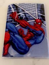 Spiderman Passport Cover Fabric & Vinyl travel accessory custom Handmade In USA