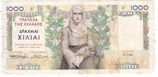 Grecia Greece  1000 drachmai 1935  BB  F   pick 106     rif 2672
