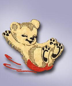 1950s Color Vintage Vogart Textilprint 487 Dancing Bears Uncut No Sew Transfer