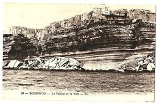 CPA Corse Bonifacio la falaise et la Ville