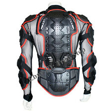 Pare Pierre Rouge Gilet/Veste MOTO Protection Enduro Racing S M L XL XXL XXXL
