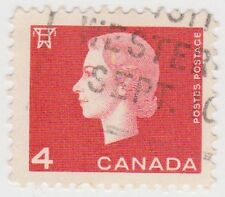 (CA232) 1962 CANADA 4c Red QEII ow530