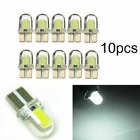 10 X T10 501 W5W CAR SIDE LIGHT BULBS ERROR FREE CANBUS WEDGE SMD LED XENON HID