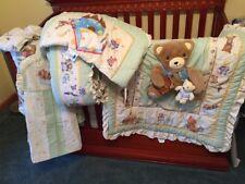 Kidsline Once Upon A Rhyme Baby Nursery 10 Pc Bedding Set Nursery Rhyme Neutral