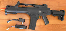 Great Quality JG G36 G608-6 Metal Gearbox Electric Airsoft Gun W/M4 Magazine
