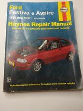 Haynes Repair Manual 1988 - 1997 Ford Festiva and Aspire 36030
