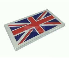 England UK Britain Flag Badge Plastic ABS Side Rear Trunk Emblem Badge Sticker