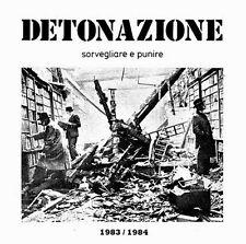 DETONAZIONE - Sorvegliare e punire 1983/1984 (joy division, diaframma) cd NUOVO!