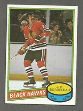 1980-81 O-Pee-Chee OPC Hockey J.P. Bordeleau #339 Chicago Black Hawks NM/MT
