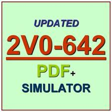 VMware Certified Professional 6 Network VCP6-NV Exam 2V0-642 Test QA+Simulator