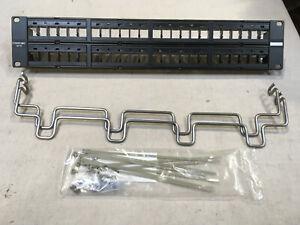 Commscope HFTP-HD6B-2U-48 Panel High Density Modular Panel Shielded 2U 48 Port