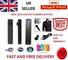 Mini 8GB Button Pinhole Spy Cam HD 720x480 Spy Hidden Security Camera DVR