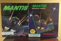 "Big Box PC SEALED Mantis Experimental Fighter & Speech Pack 1992 IBM 3.5"" Sci-Fi"