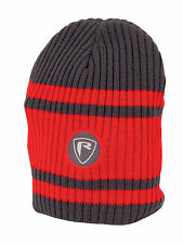 Fox Rage Red Grey Beanie Hat NPR168 Mütze Wintermütze Beaniehat Beanie