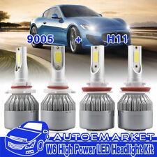 9005 H11 LED Headlight Bulbs for Toyota Camry 2007-2017 Sienna 11-17 Hi/Lo Beam
