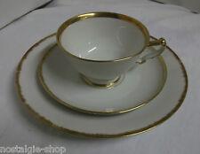 Kaestner Saxonia Kaffee Tee Gedeck 3tlg. Porzellan Art Deco
