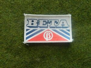 BETA CLOTH BADGE FACTORY SUPPLIED CIRCA 1984