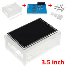 """3.5"""" TFT LCD Display Touch Screen Kit with Case Heatsink for Raspberry Pi2  W z"""