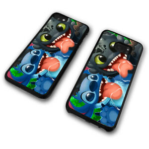 Tongue Out Stitch Koala Dog Alien Toothless Disney Cute Funny Phone Case Cover