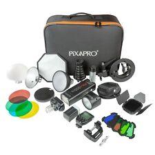 Portátil Batería Accionado Min Flash Kit Completo Fotografía (Canon)