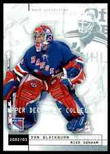 2002-03 Upper Deck Mask Collection Mike Dunham Dan Blackburn #55