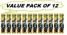 VALUE PACK OF 12  Long Neon Lighters For Fireplace, Gril,l Gas Stove, Barbeque