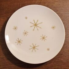 """2 Royal China STAR GLOW 9-1/2"""" Luncheon Plates EXCELLENT"""