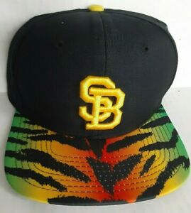 new Nike SB Snapback rasta Black Yellow green Skate Cap Hat