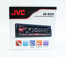 JVC KD-R370 Single Din Car Stereo CD Receiver with AM/FM Tuner & Aux Input
