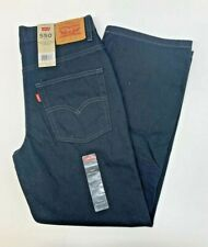 Levi's 550 Relaxed Fit Black Denim Jeans Mens 32x27 12 Youth Husky