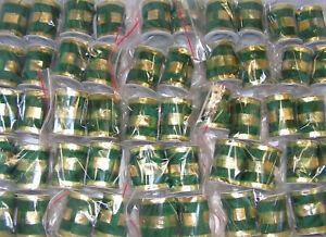 50 x Rollen Schleifen-,Dekoband  6 cm x 2 m Restposten Sonderposten 3085