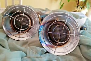 Lot of 2 Mr. Heater MH12T 10,000-13,000 BTU Radiant Propane Heater