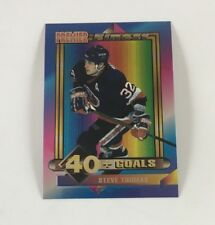 1994 Topps Hockey Card Premier Finest Steve Thomas (Islanders) LB02