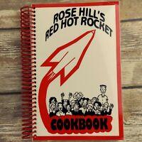 Rose Hill Kansas Cookbook Vintage 1995 Elementary School KS Kitchen Recipes
