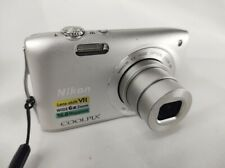 Nikon COOLPIX S3300 16.0MP Digital Camera - Silver - Unit only