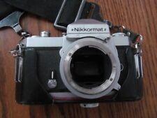 Nikon Nikkormat FT2 35mm SLR Film Camera Body Only w/Leather Case (JAPAN)