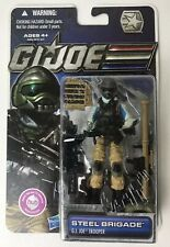 G.I. Joe Steel Brigade Trooper Action Figure. 30TH Anniversary.