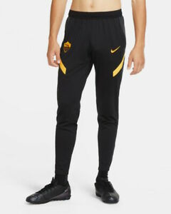 As Roma Nike Pantaloni tuta Pants 2020 21 Training Dry Strike Nero UOMO