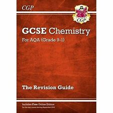 New Grade 9-1 GCSE Chemistry: AQA Revision Guide with Online Edition by CGP...