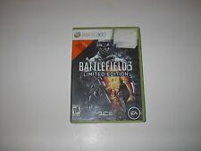 XBOX 360 BATTLEFIELD 3 LIMITED EDITION 2011
