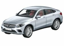 Genuine Mercedes-Benz GLC Coupé Diamond Silver Model Car 1:18 Von iScale