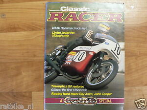CLASSIC RACER 1984 SPRING ISSUE 5,COOPER,GILERA,NSU RENNMAX,LINTO