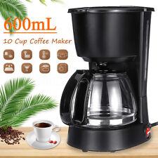 Coffee Maker 10 Cups Electric Drip Filter Espresso Automatic Machine Cafe Tea